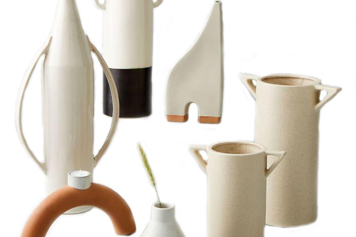 west elm shape studies vases