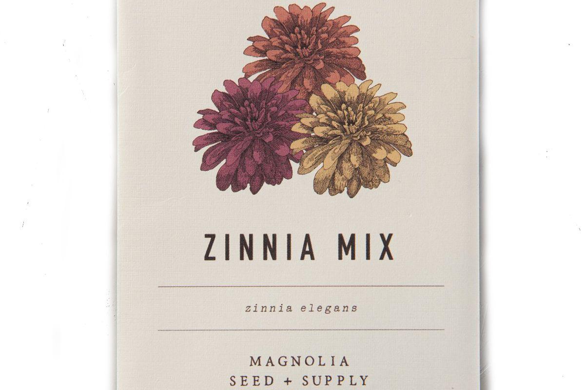 magnolia seed and supply zinnia mix seeds