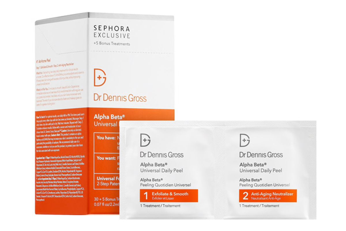 dr dennis gross skincare alpha beta universal daily peel