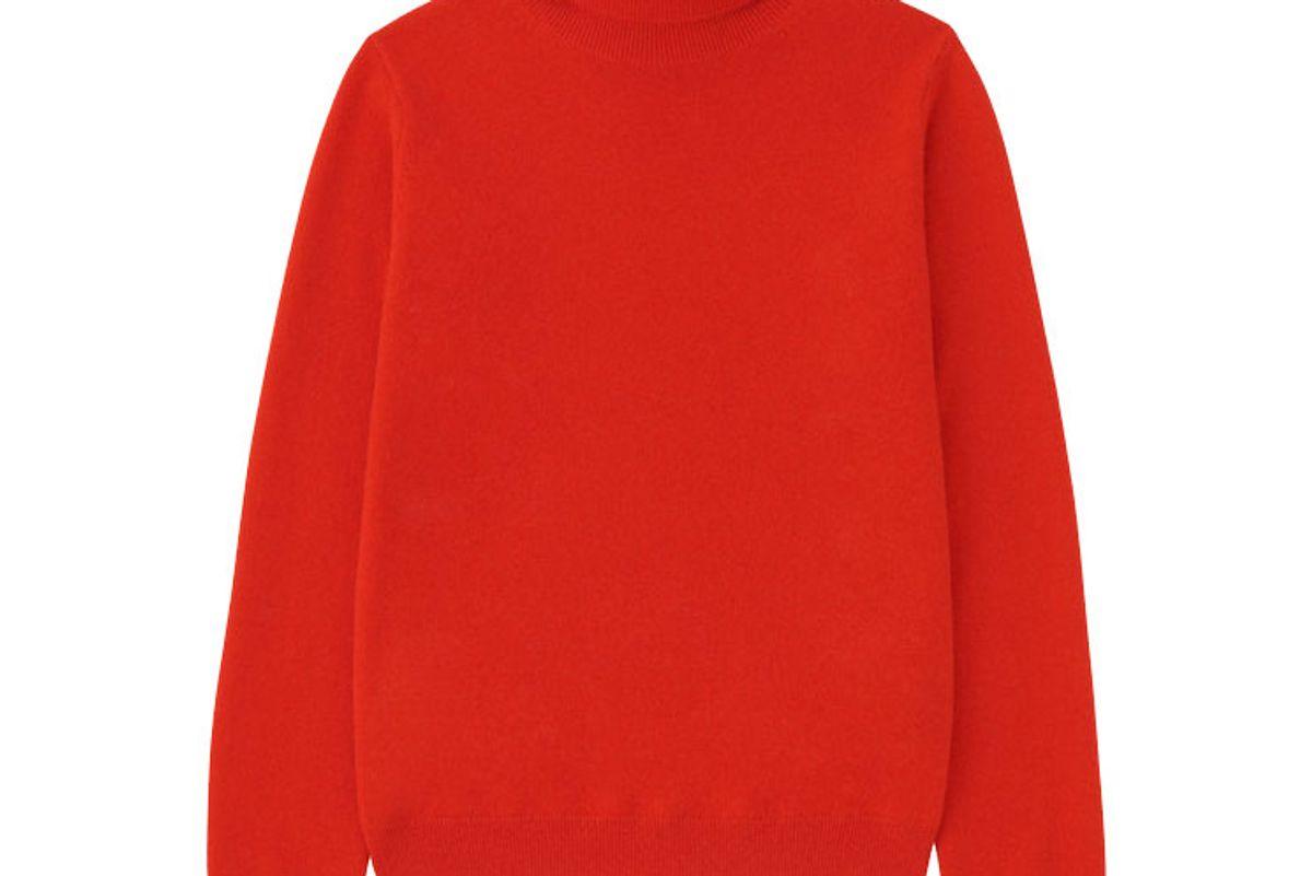 uniqlo women cashmere turtleneck sweater