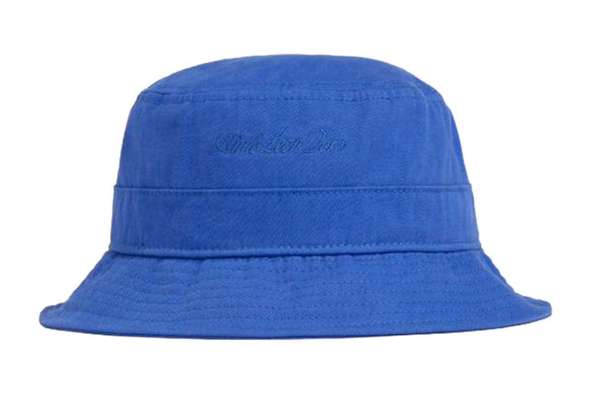 amie leon dore cotton twill bucket hat