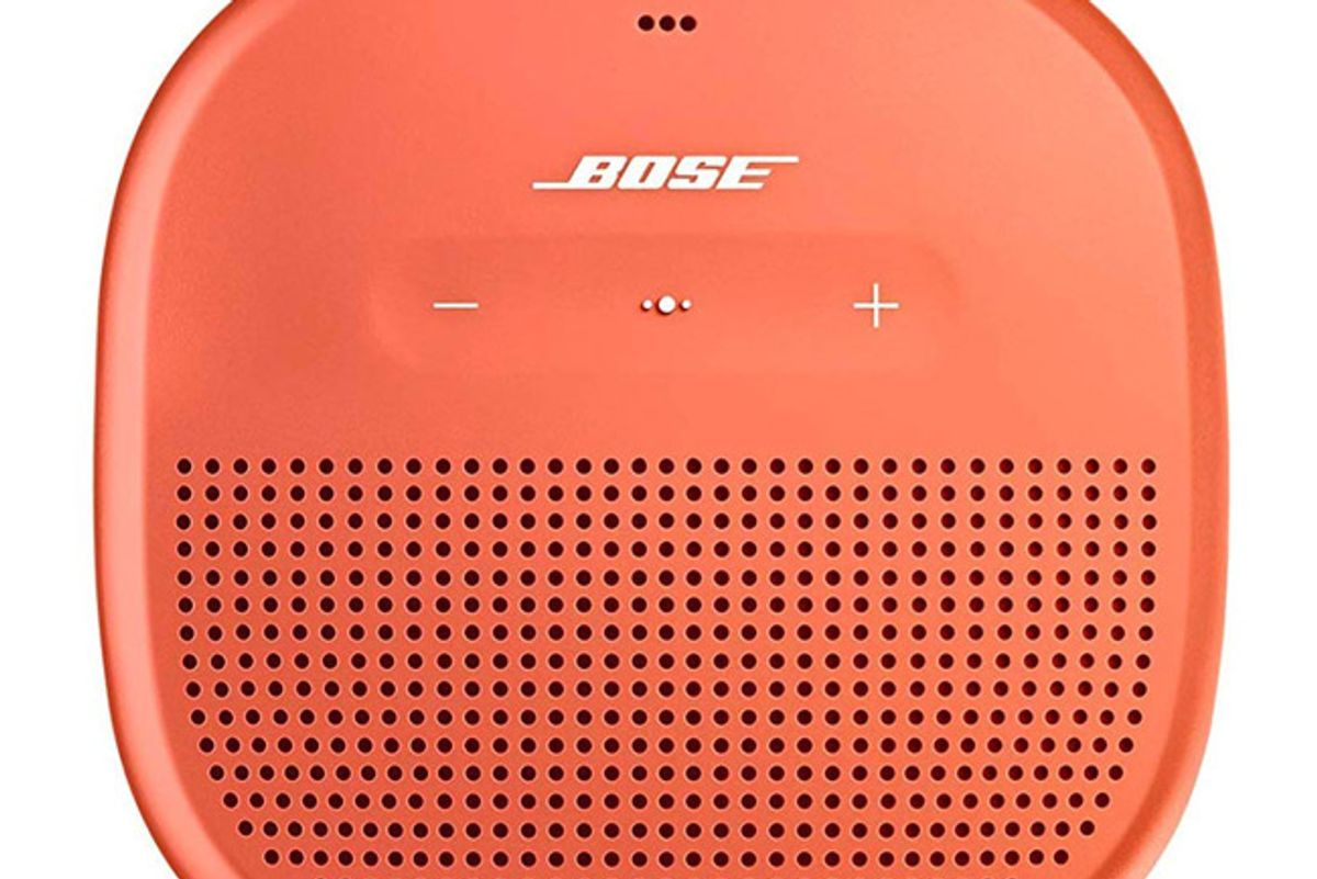 bose soundlink micro portable outdoor speaker bright orange