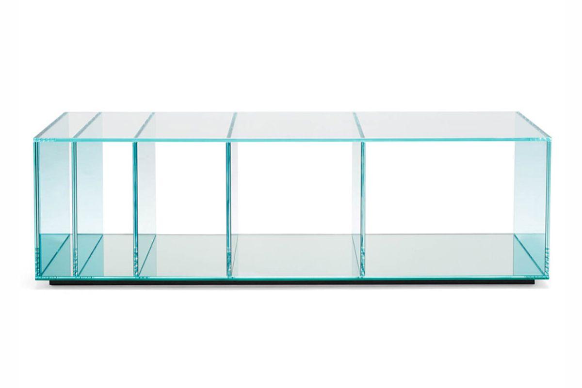 glas italia glas italia coffee table deepsea blue