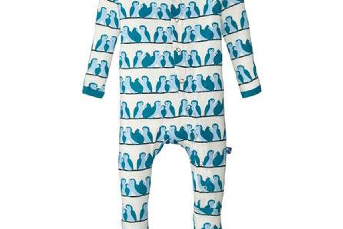 Pants Print Footie
