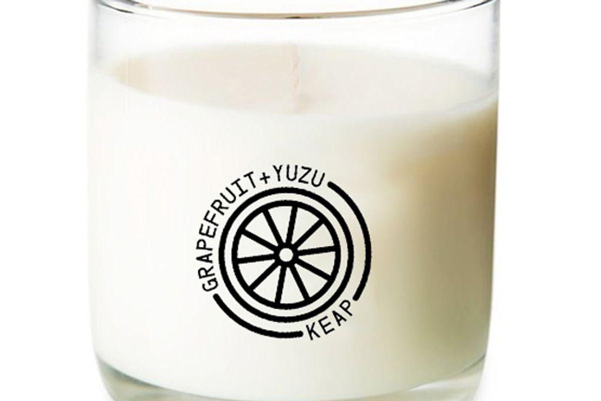 keap grapefruit and yuzu candle