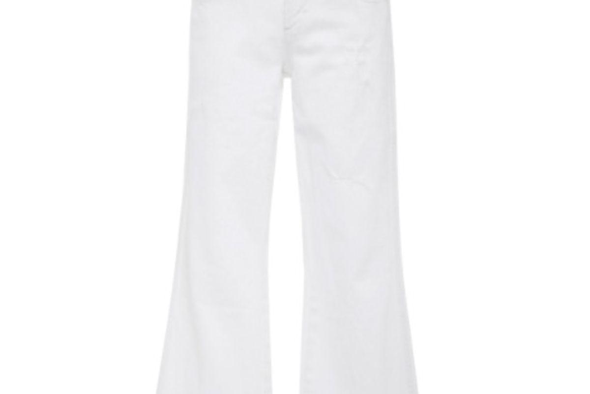 Vintage Wide Leg Crop Jeans