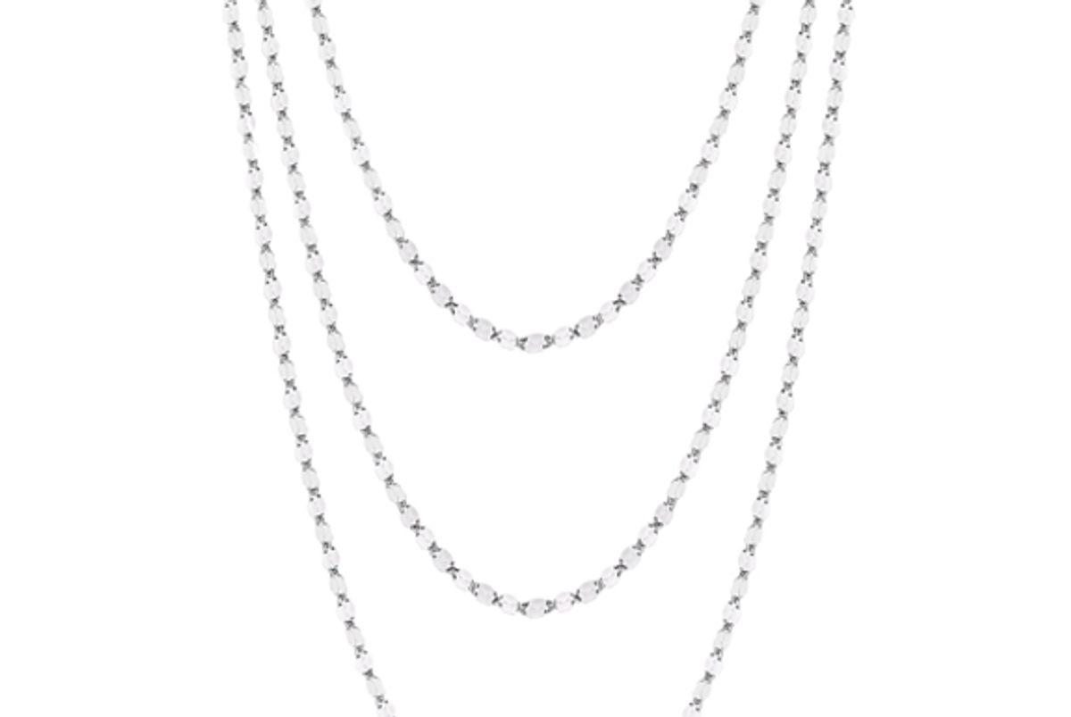 platinum born the strata necklace