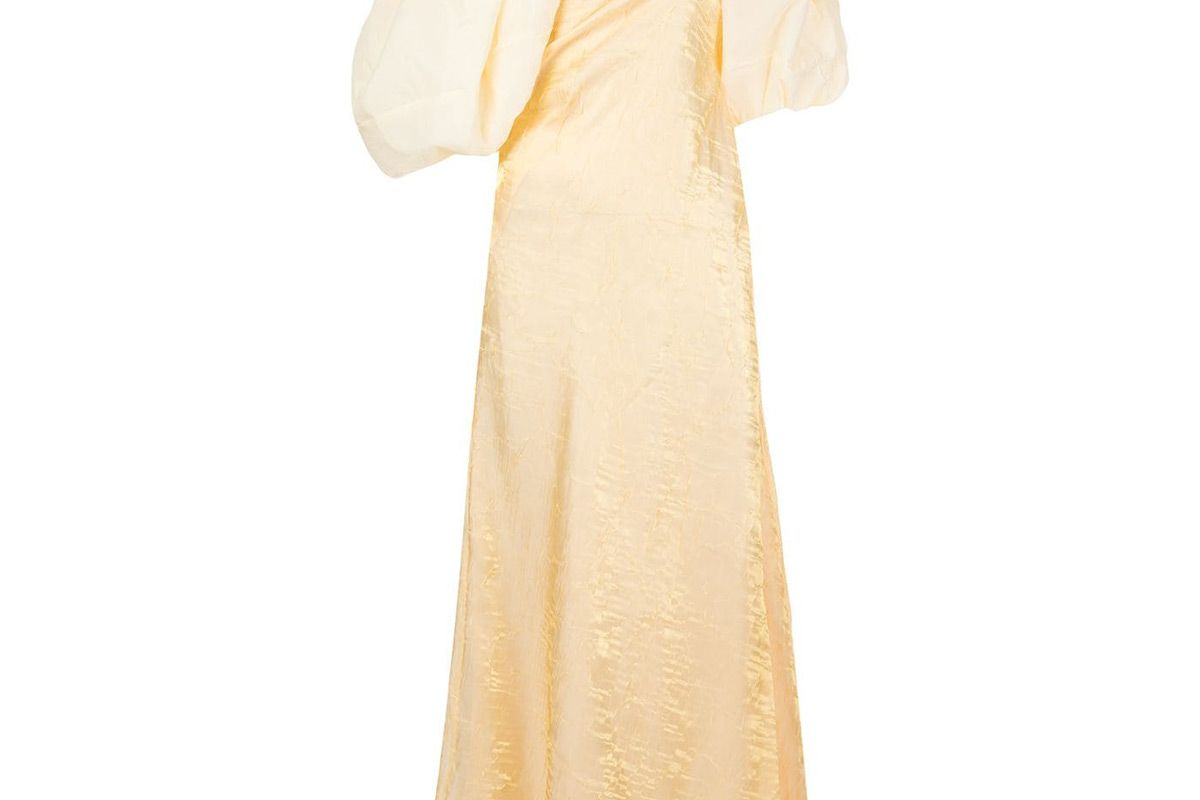 rejina pyo cloud sleeve gown