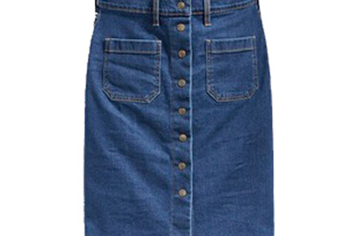 Front Detailed Skirt