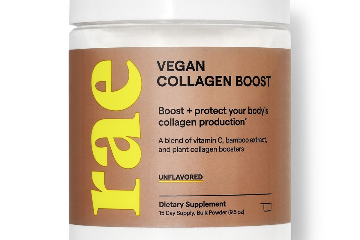 rae wellness vegan collagen boost powder unflavored
