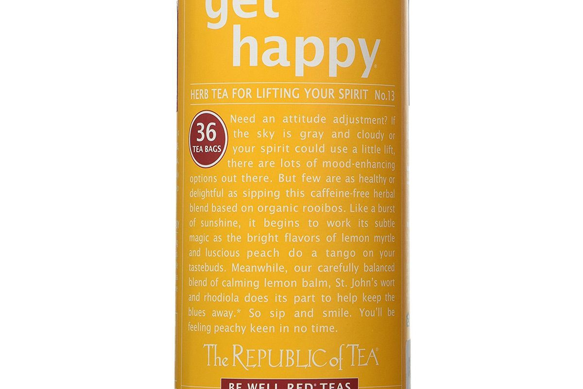the republic of tea get happy no 13 tea for lifting your spirits