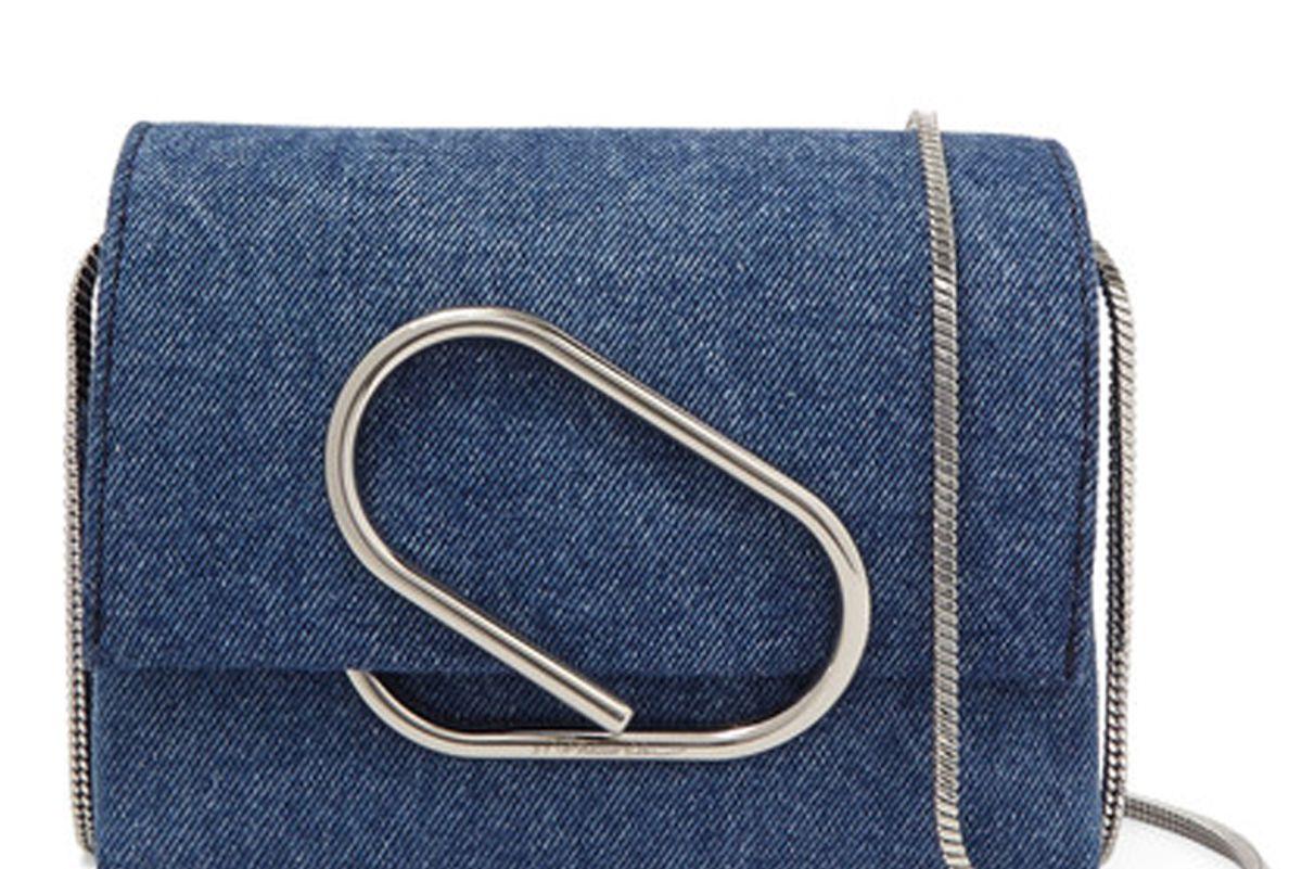 Alix Micro Denim Shoulder Bag