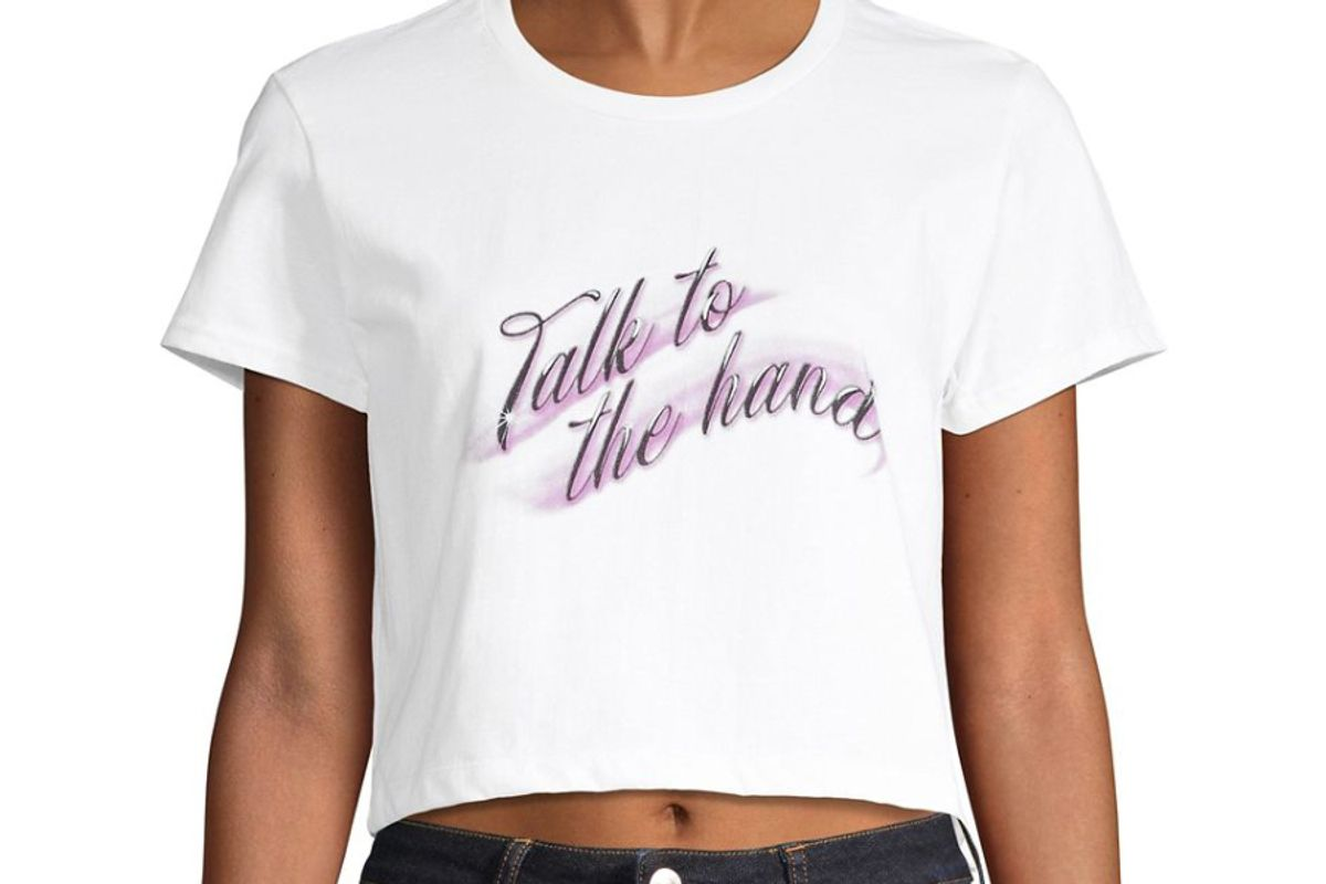 capsule 98 talk to the hand baby t shirt