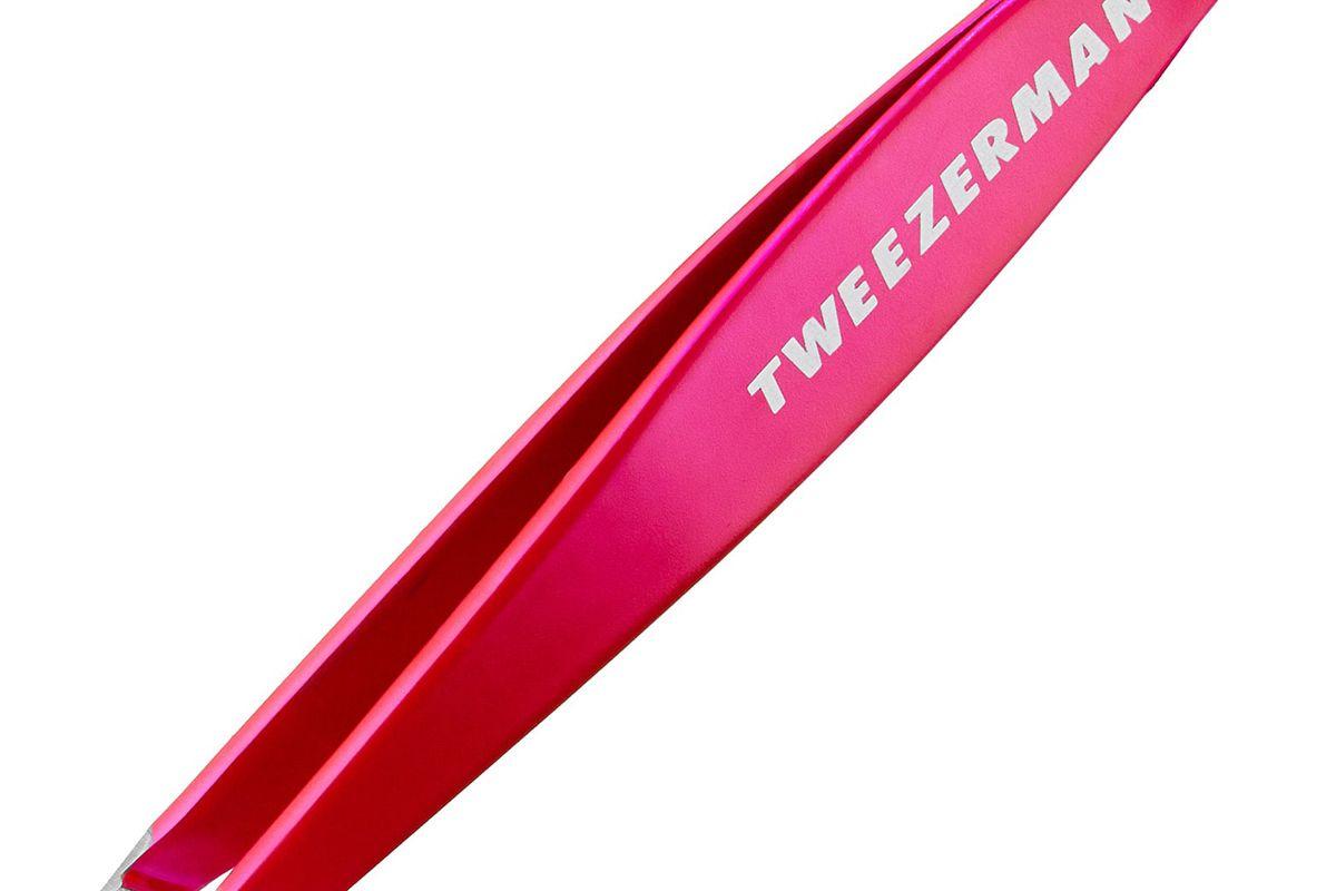 tweezerman pink perfection mini slant tweezer
