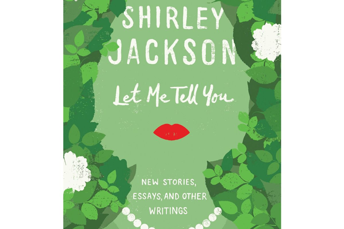 shirley jackson let me tell you new stories essays and other writings