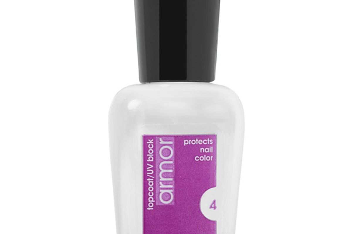 zoya armour top coat