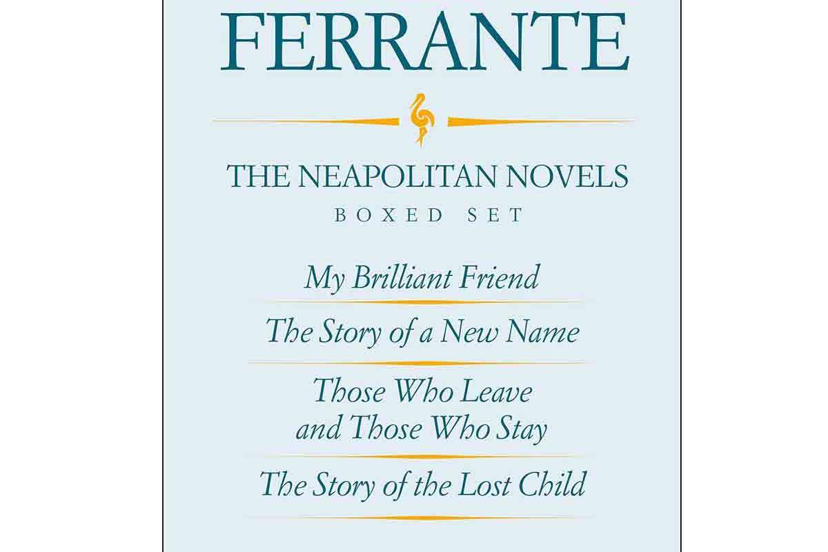elena ferrante the neapolitan novels boxed set