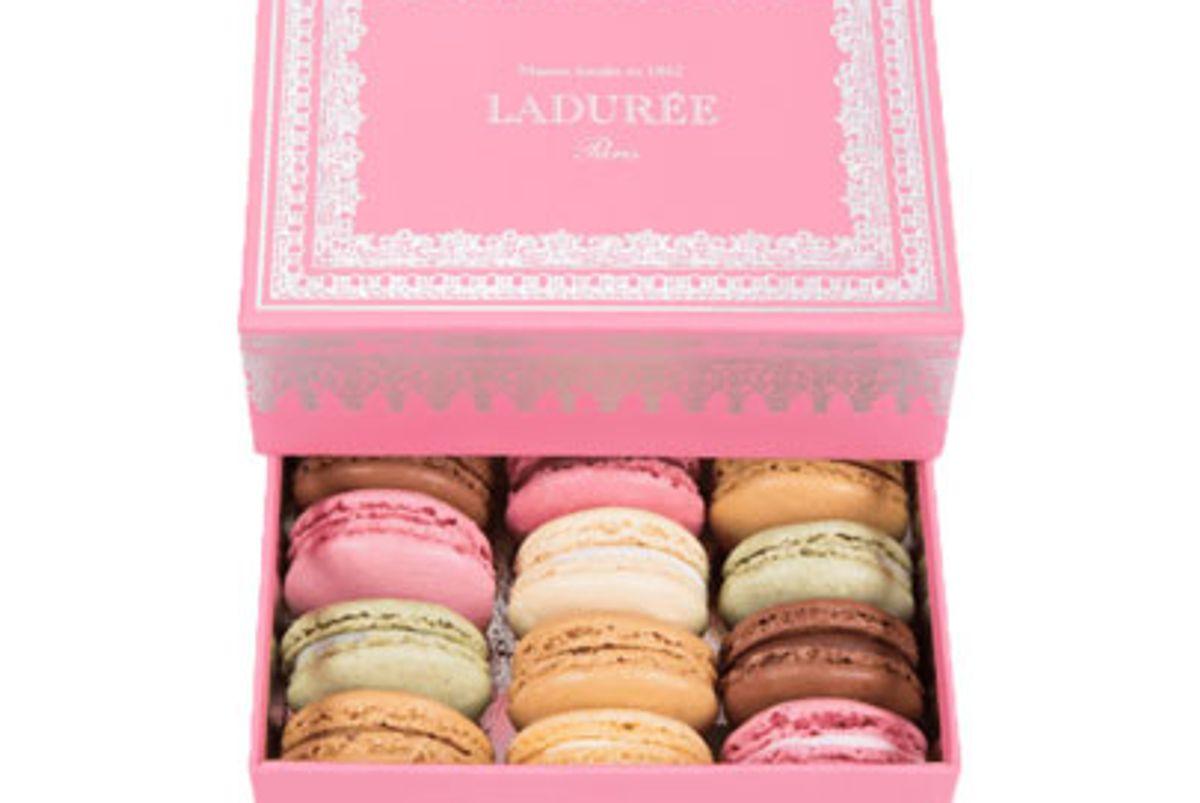 laduree pink napoleon iii gift box