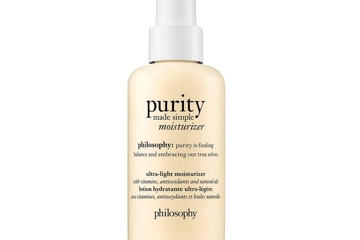 purity made simple moisturizer