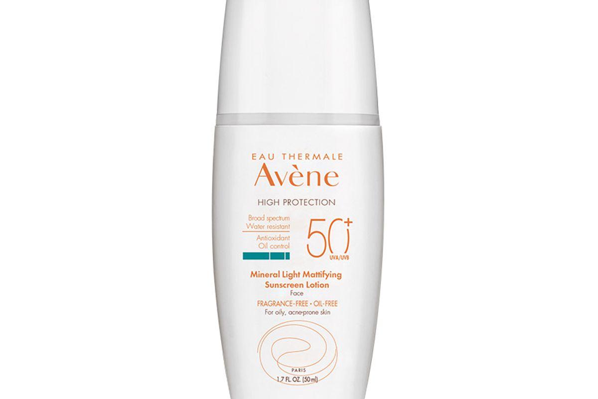 avene mineral light mattifying sunscreen lotion