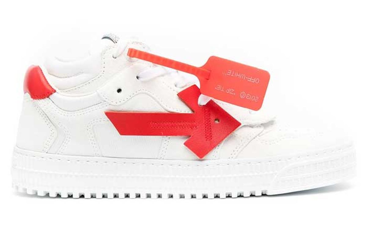 off white 3 0 low top sneakers