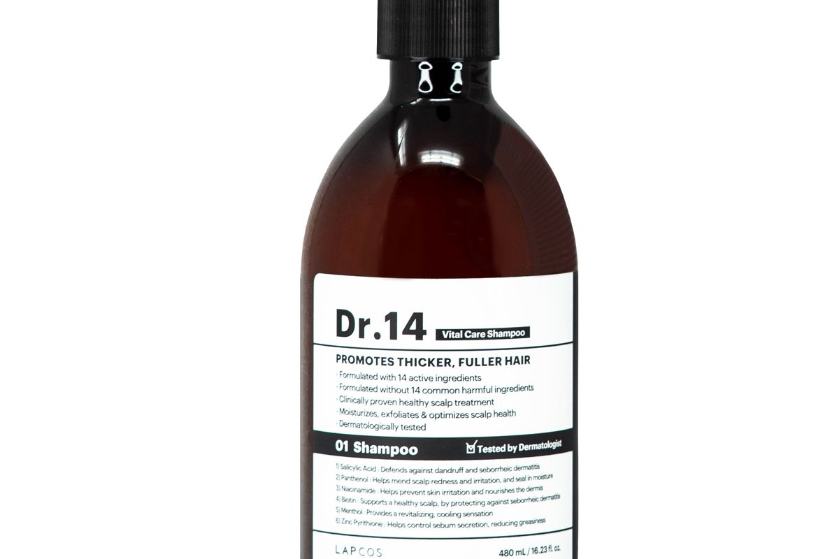 lapcos dr 14 vital care shampoo