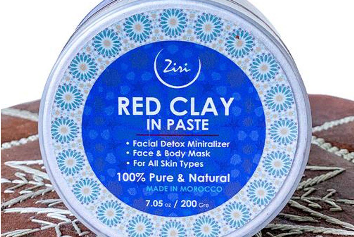 ziri skincare moroccan red clay