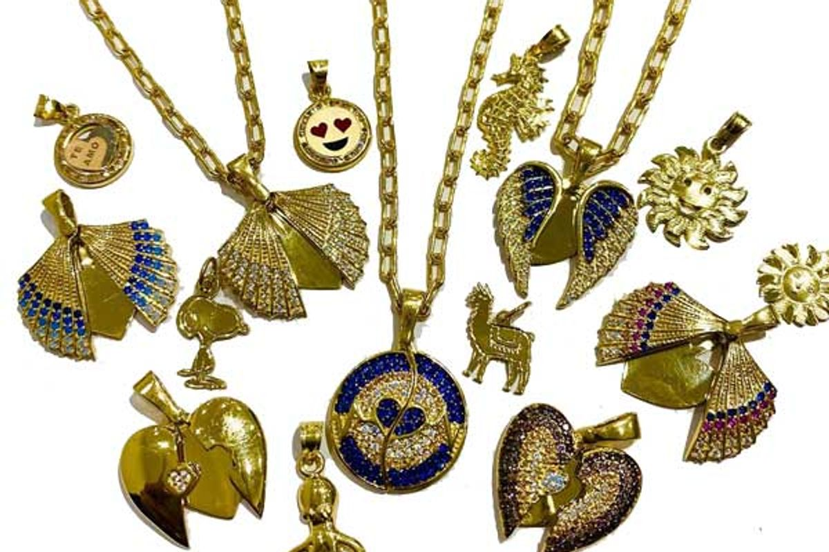 newtop jewelry gold charm necklaces