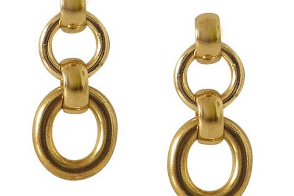 laura lombardi mini portrait earrings
