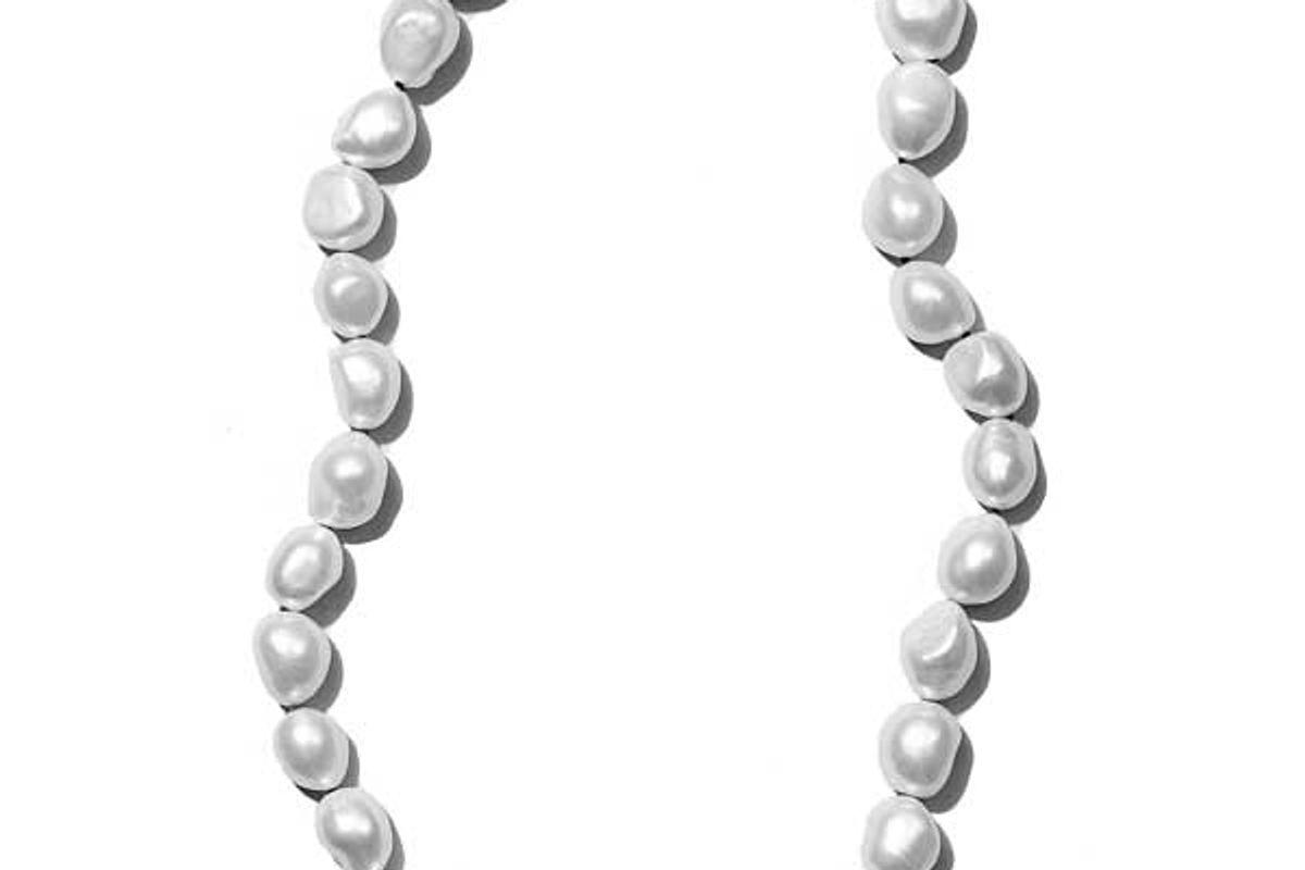 sophie buhai simple baroque pearl collar