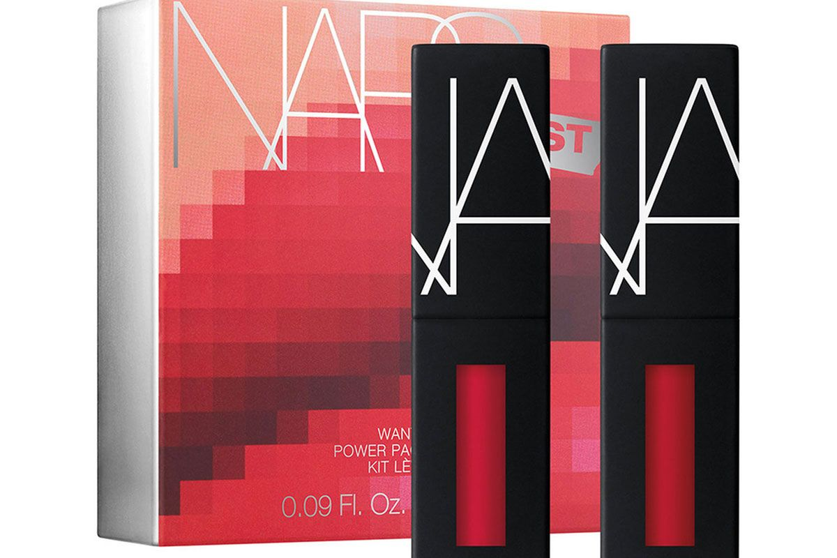 nars narsissist wanted power pack lip kit in hot red