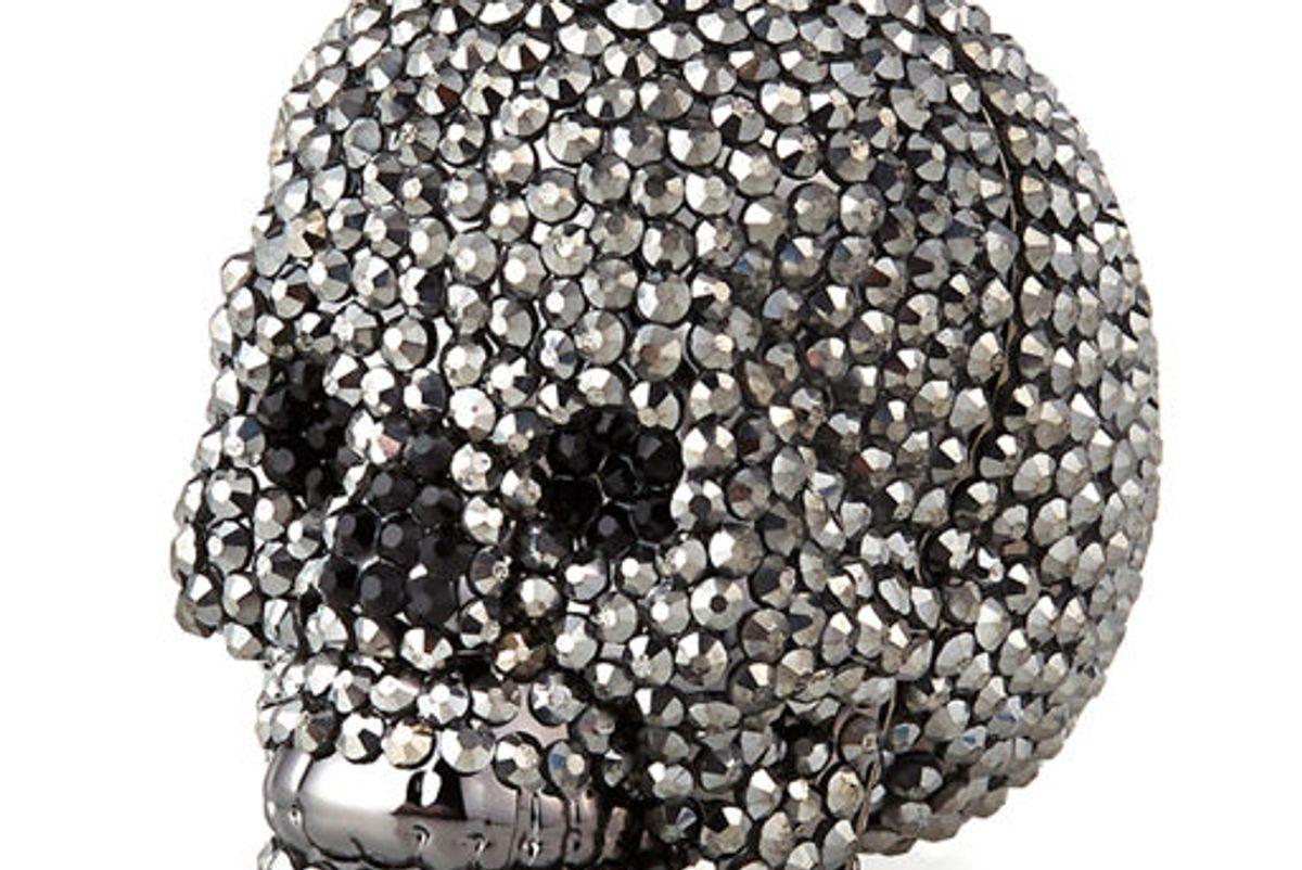 judith leiber skull beaded crystal pillbox