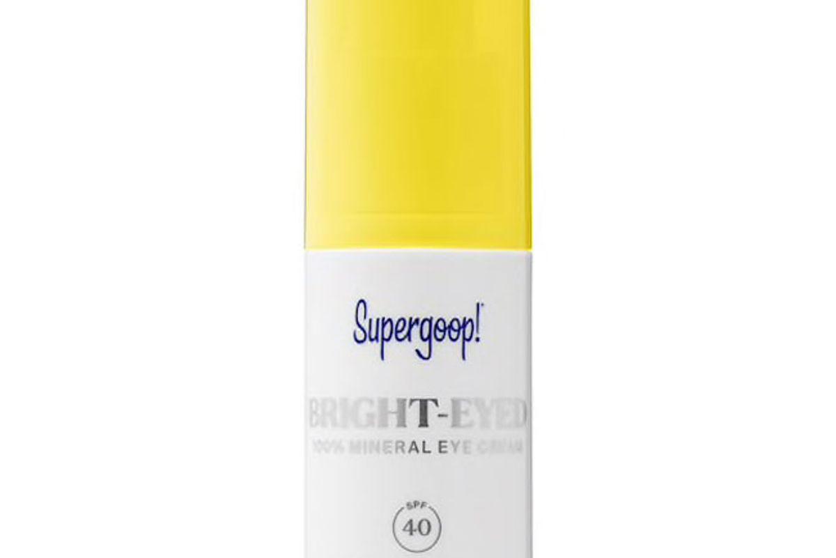 supergoop brght eyed 100 percent mineral eye cream spf 40