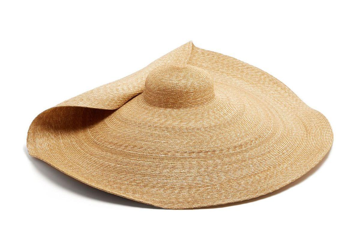 jacquemus la bomba straw hat