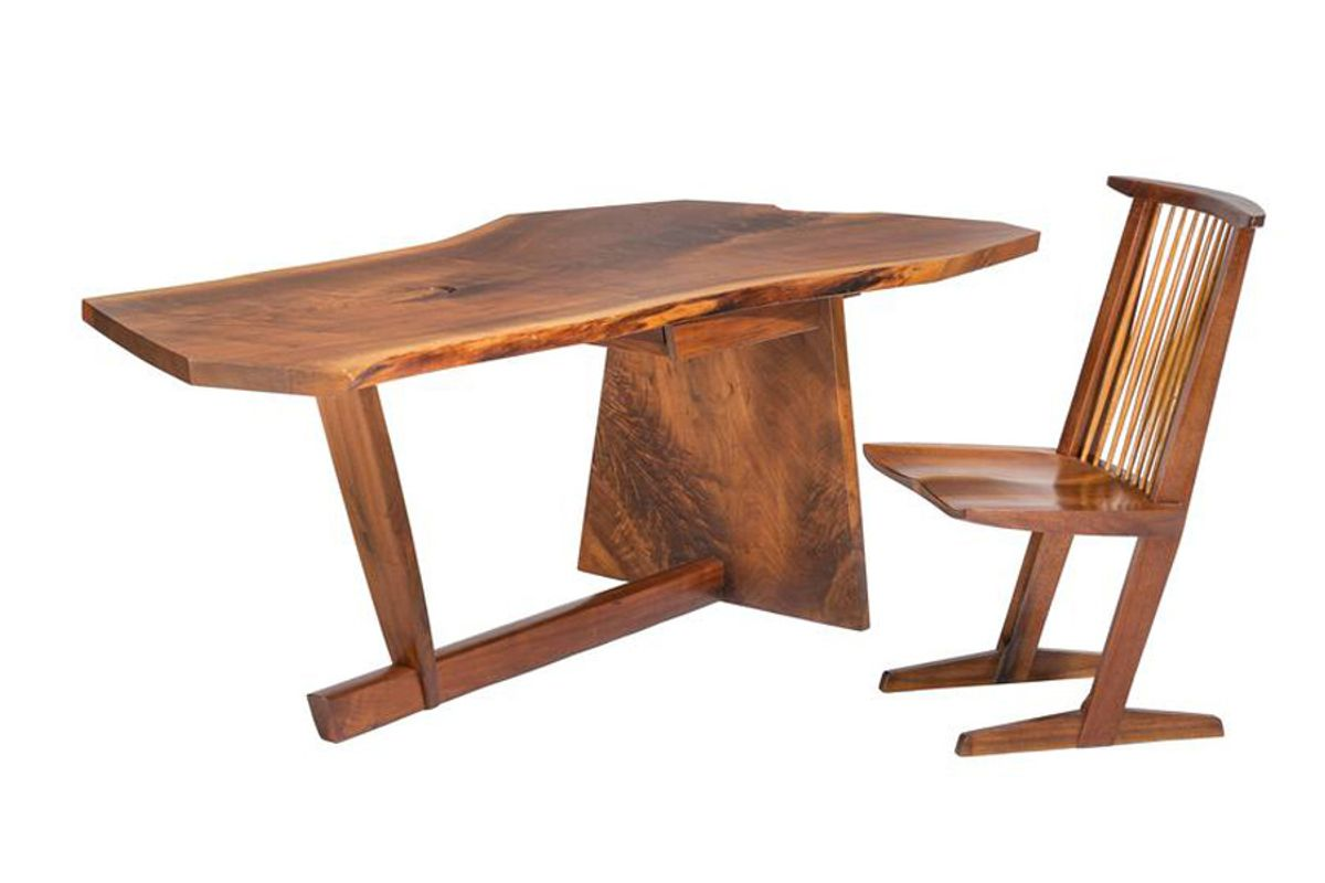 Conoid Desk and Chair