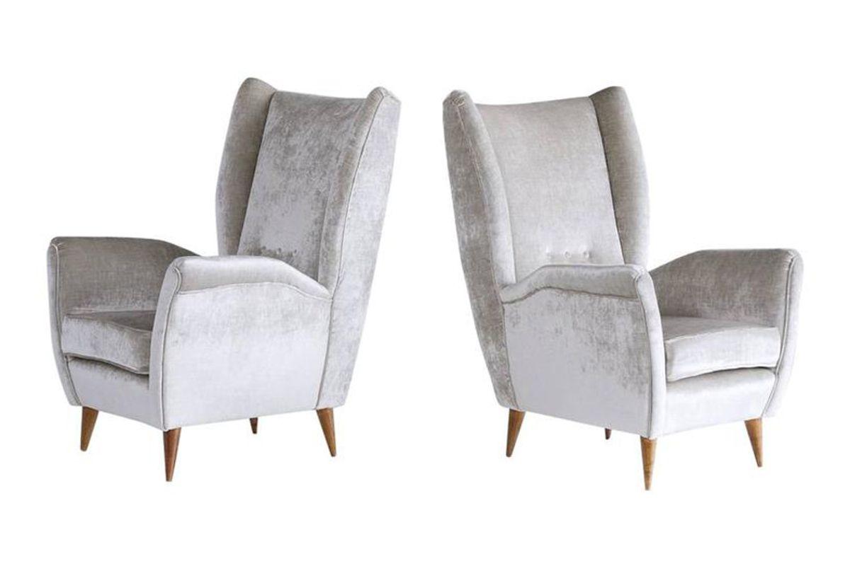 High Back Armchairs