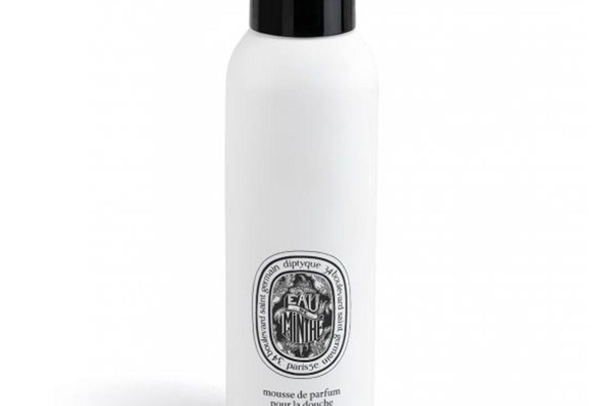 diptyque eau de minthe shower foam