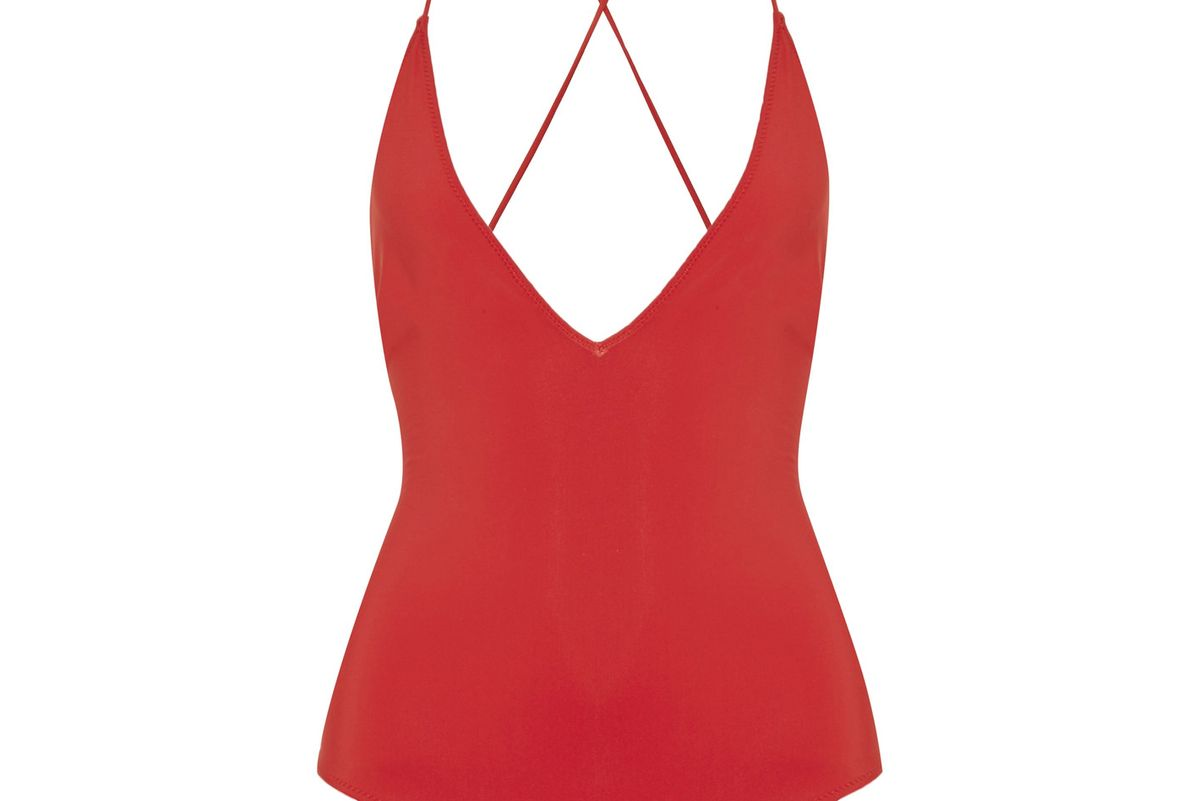 Antonia Lace-Up Swimsuit