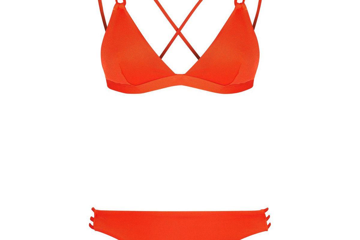 Pique Strappy Bikini