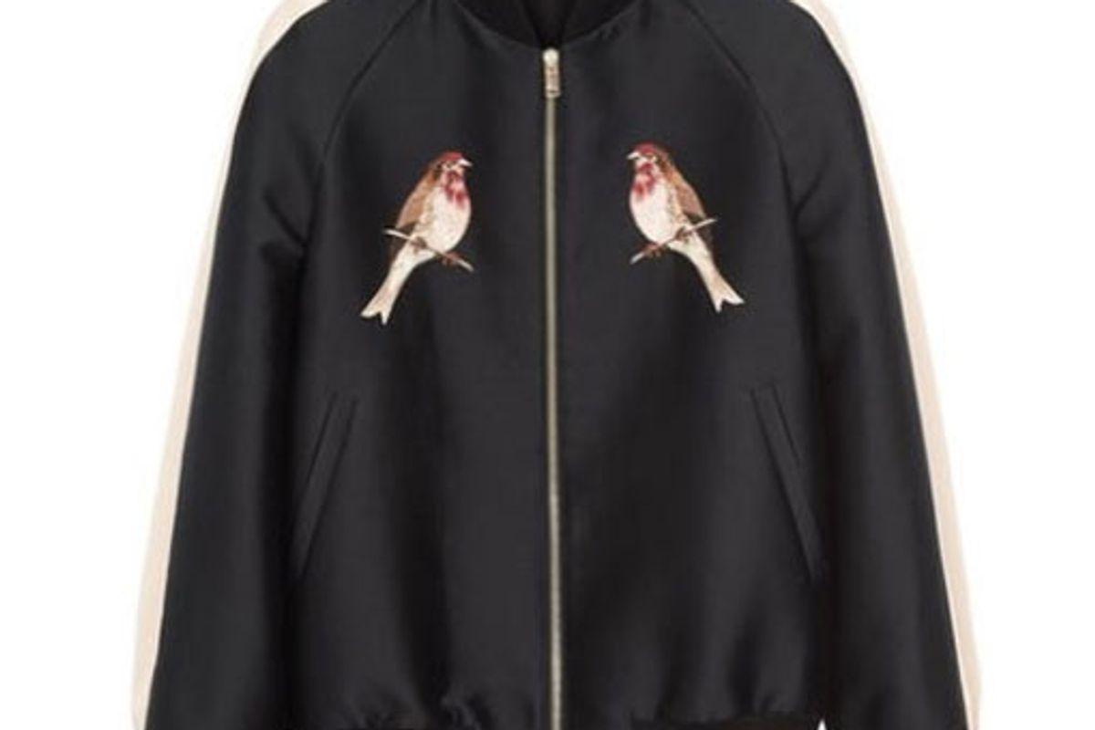 Nashville Embroidered Bomber Jacket