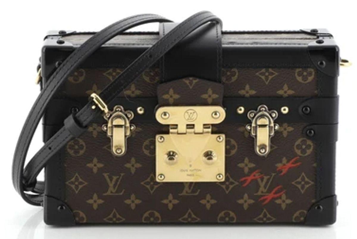 louis vuitton petite malle handbag