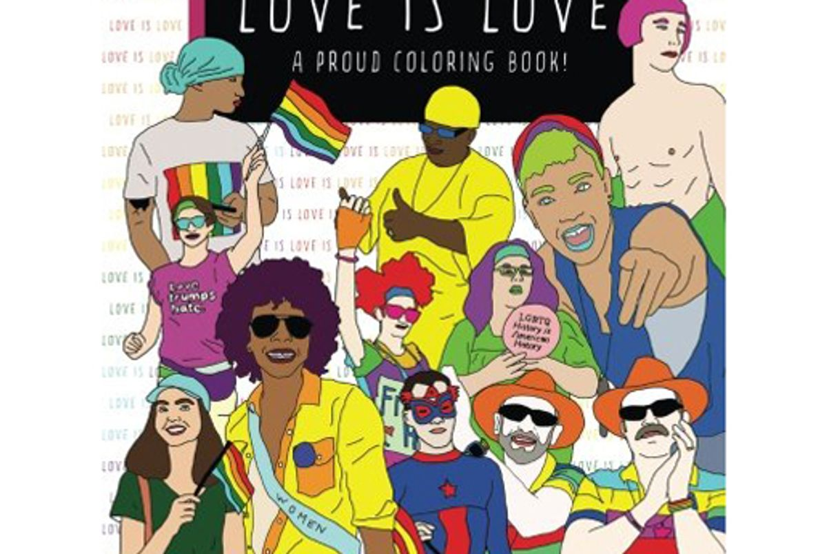 monica hammond love is love a proud coloring book