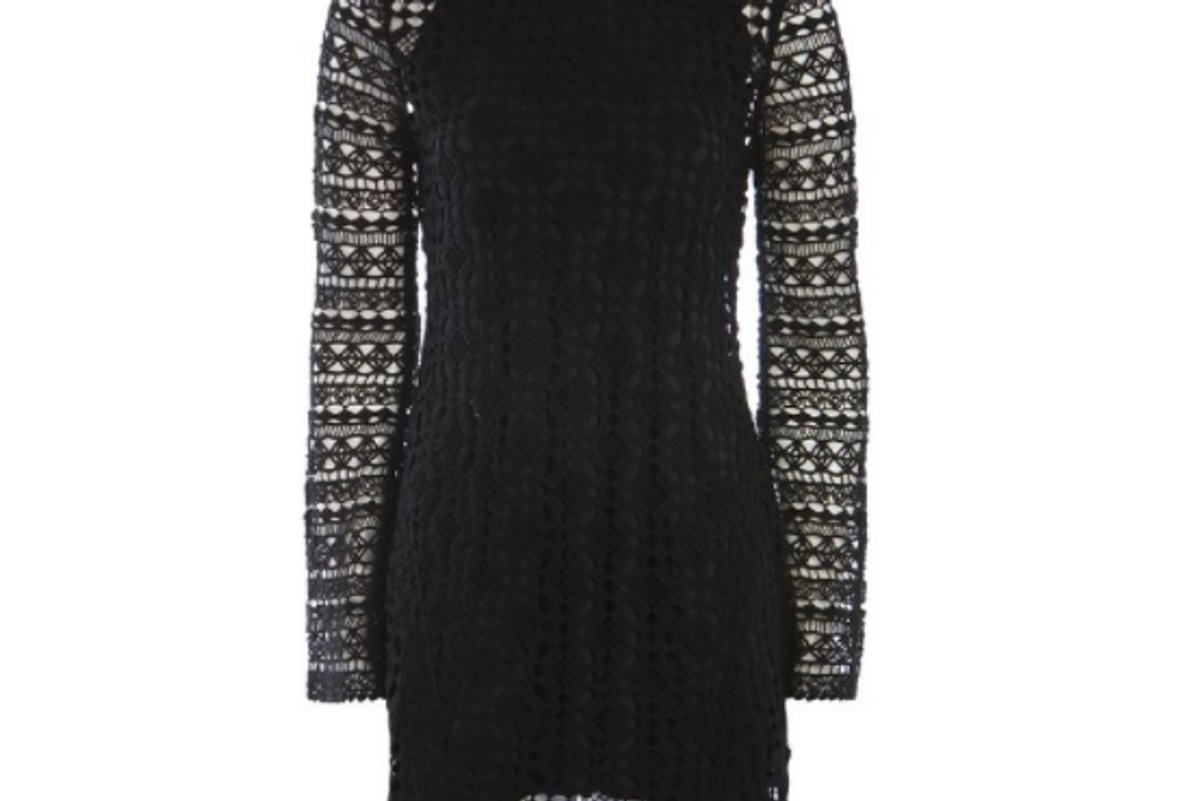 Lace Knitted Dress