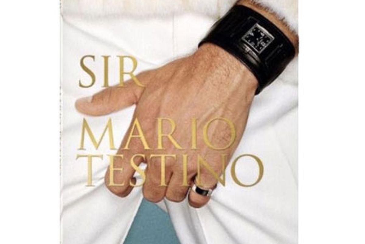 Mario Testino Sir