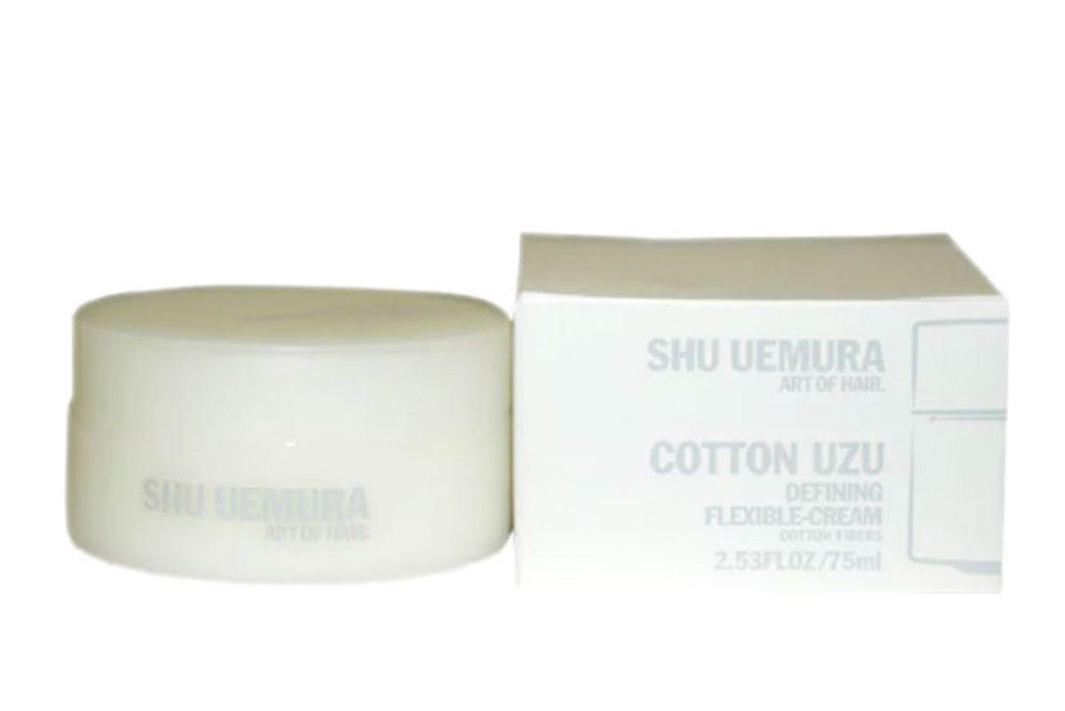 shu uemura cotton uza defining flexible cream