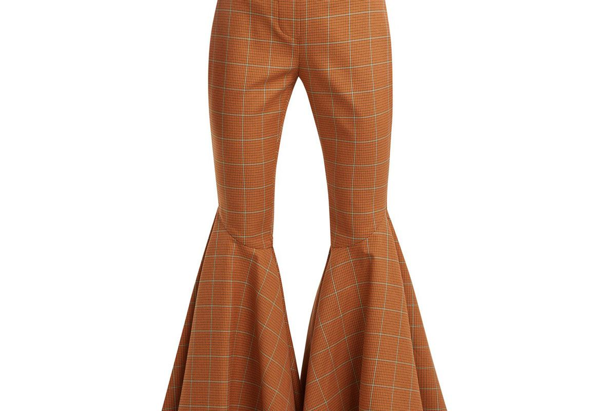 ellery jacuzzi checked trousers
