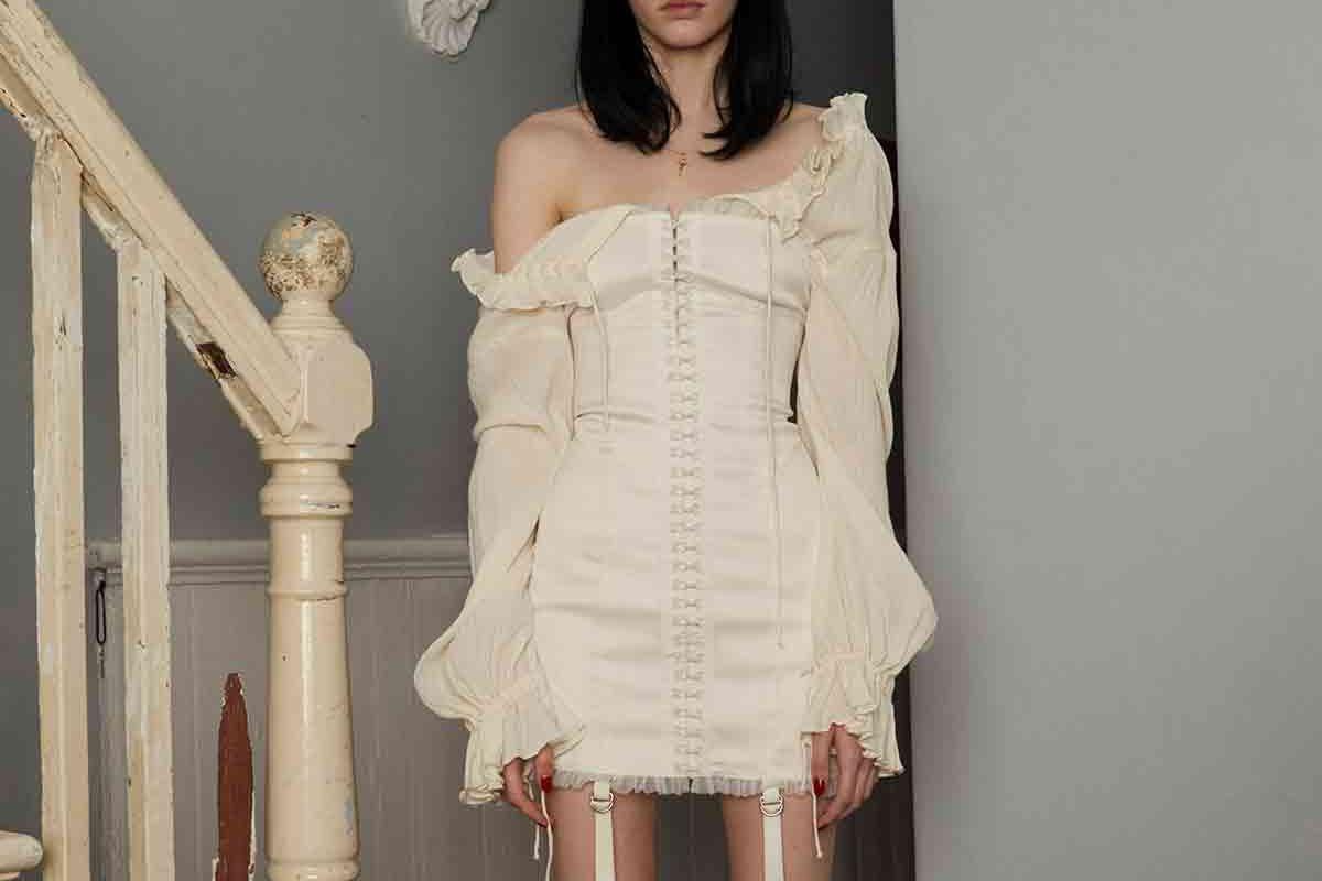 Satin Hook Dress