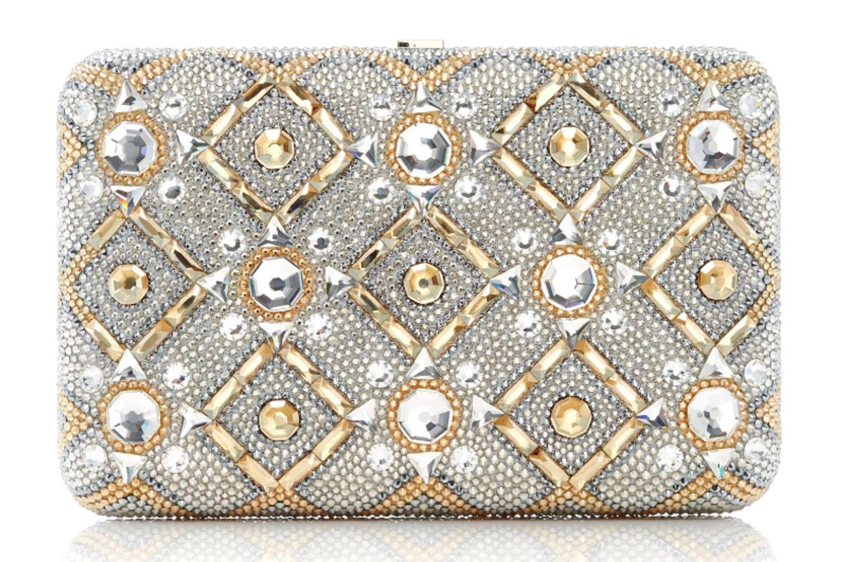 judith leiber couture starbright seamless clutch