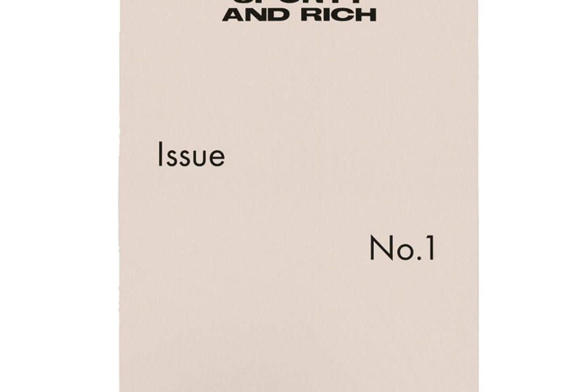 Sporty & Rich Magazine Issue No.1