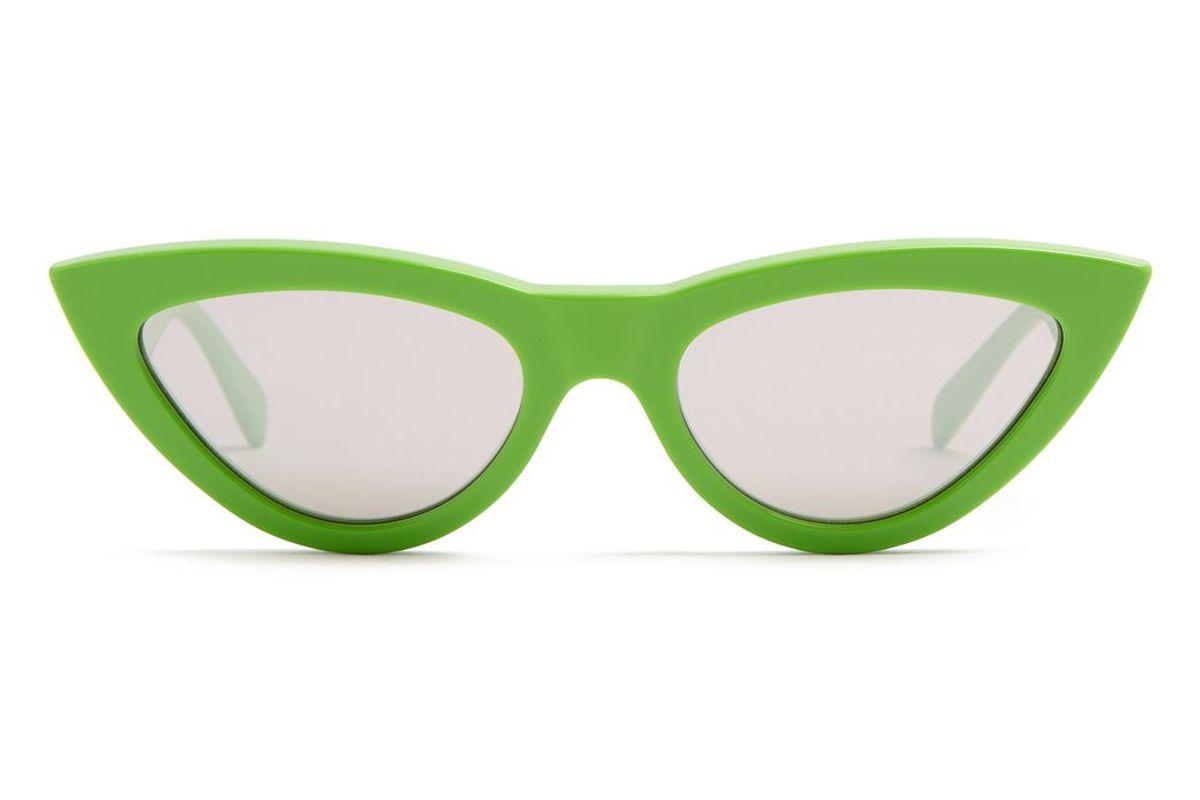 celine cat eye acetate sunglasses